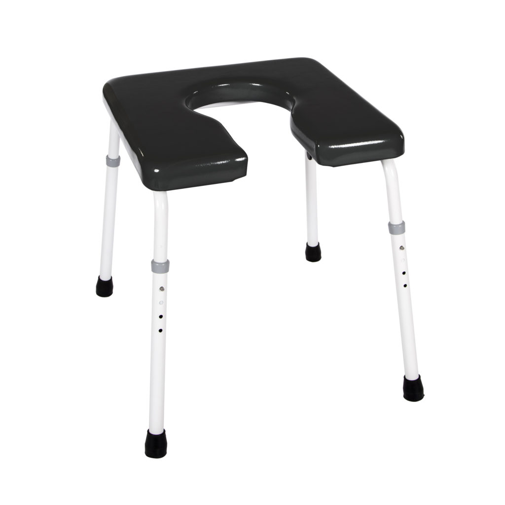 101  Rehab Shower/Commode Chair – Bath/Toilet Modular System  Weight capacity: 350 lbs  Frame width(s): 18″  Seat width & depth(s): 16″x16″, 16″x18″, 16″x15.5″, 18″x16″, 18″x18″